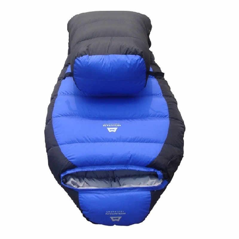 buy popular 54a1f 27051 Detail Feedback Questions about 25 Degree Sleeping Bag Mummy ...