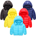 Down Jacket Unisex Feather Baby Clothes Children Coats Infants Doudoune Enfant Baby Puffe Jacket Outerwear Baby Coat 60Z011