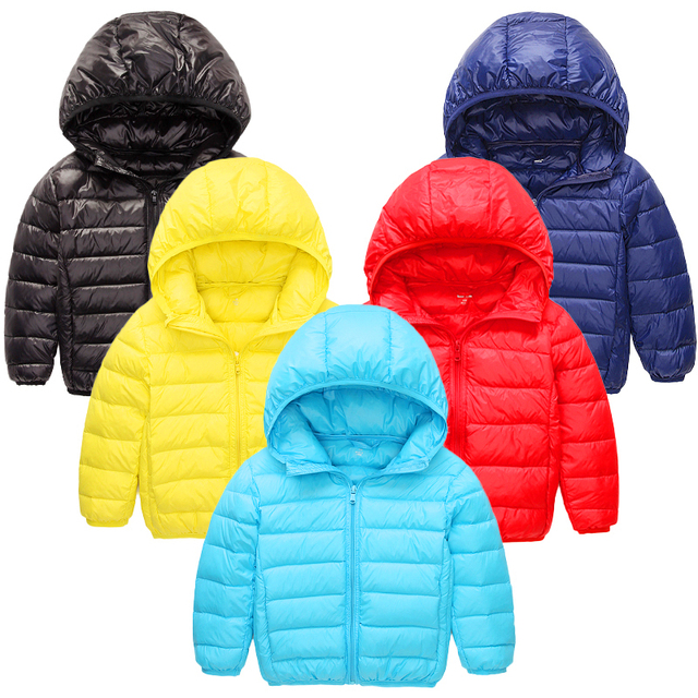 8204dd947675 Down Jacket Unisex Feather Baby Clothes Children Coats Infants ...