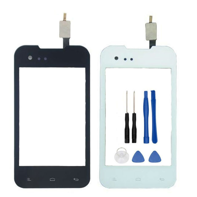 For Fly IQ237 IQ 237 Black White Touch Screen Digitizer Panel Sensor Lens  Glass Replacement 9b8bababe9