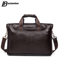 Bostanten 2015 New Fashion Genuine Leather Bag Men Famous Brand Shoulder Bag Messenger Bags Men S