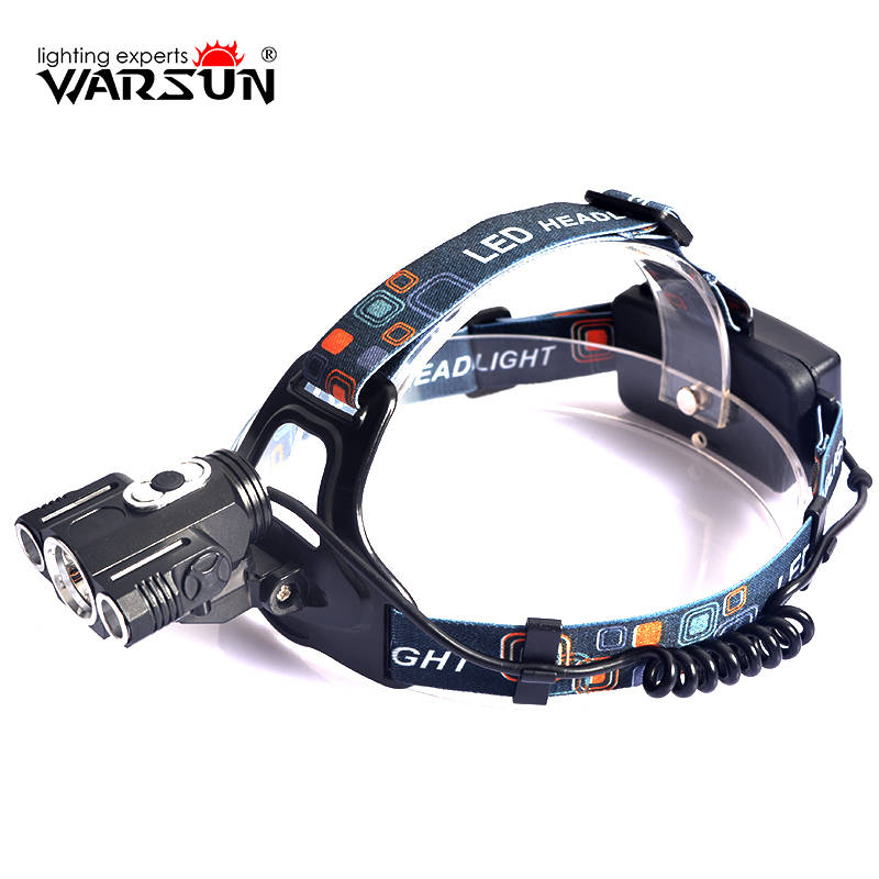 WARSUN XML T6 1600Lm Headlamp 4 Modes Lanterna Led Lampe Frontale Headlamp Outdoor Boruit Camping Torch