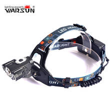 WARSUN XML T6 1600Lm Headlamp 4 Modes Lanterna Led Lampe Frontale Headlamp Outdoor Boruit Camping Torch Head Light 18650 Battery