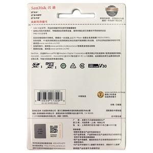 Image 5 - Cartão de memória alto do microsd da resistência 32gb u1 de sandisk até 100 mb/s 64gb 128gb 256gb classe 10 velocidade video u3 v30 hd completo 4k