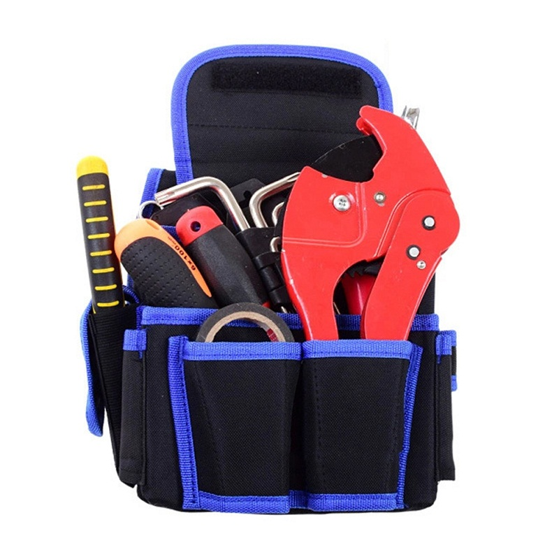 Y1 Multifunctional Thickened Canvas Tool Bag Oxford Cloth Electrical Tools  Carpenter Belt Bag 8ef91f3c3fc6