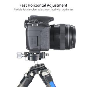 Image 5 - 1/4 ネジ三脚ボールヘッドアダプタミニ球ptzアルカスイスクイックリリースクランププレートマイクロ シングルデジタル一眼レフカメラスライダー