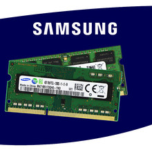 Samsung notebook portátil RAM de DDR2 800 667 Mhz pc2 5300 DDR3 1333 1600 Mhz 1 GB 1G 2 GB 2G 4 GB 4G (2 piezas * 2 GB) PC3 10600 s 12800 s(China)