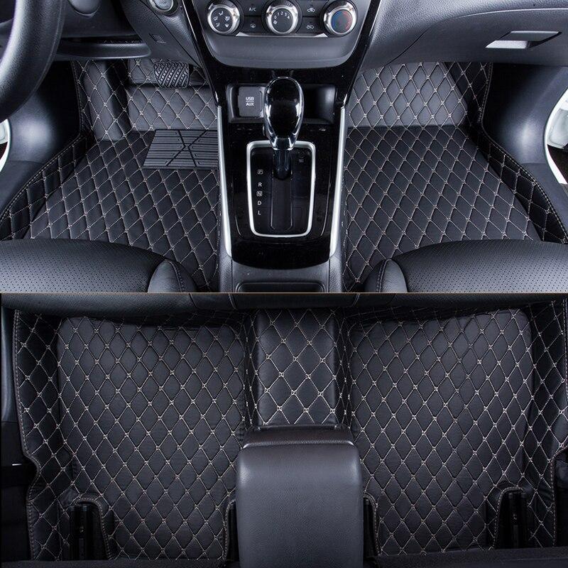 WLMWL tapis de sol de voiture pour MG tous les modèles MG7 MG5 MG6 MG3 ZS accessoire de voiture voiture style auto coussin couvre tapis de pied tapis de pied