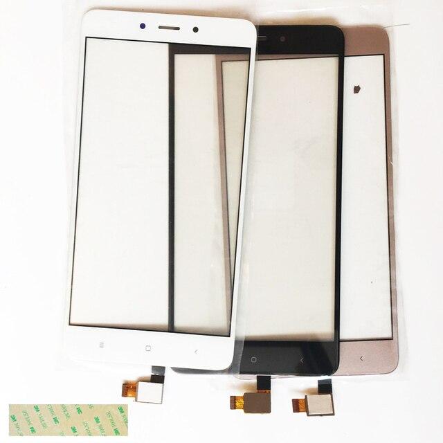 Black White Gold Touchscreen For Xiaomi Redmi Note 4 Touch Screen Digitizer Glass Panel Sensor Front Lens