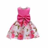 2018 New adorable toddler baby girls party dress Top quality kids lavender mesh vest tutu dress 3y 9y children clothes summer