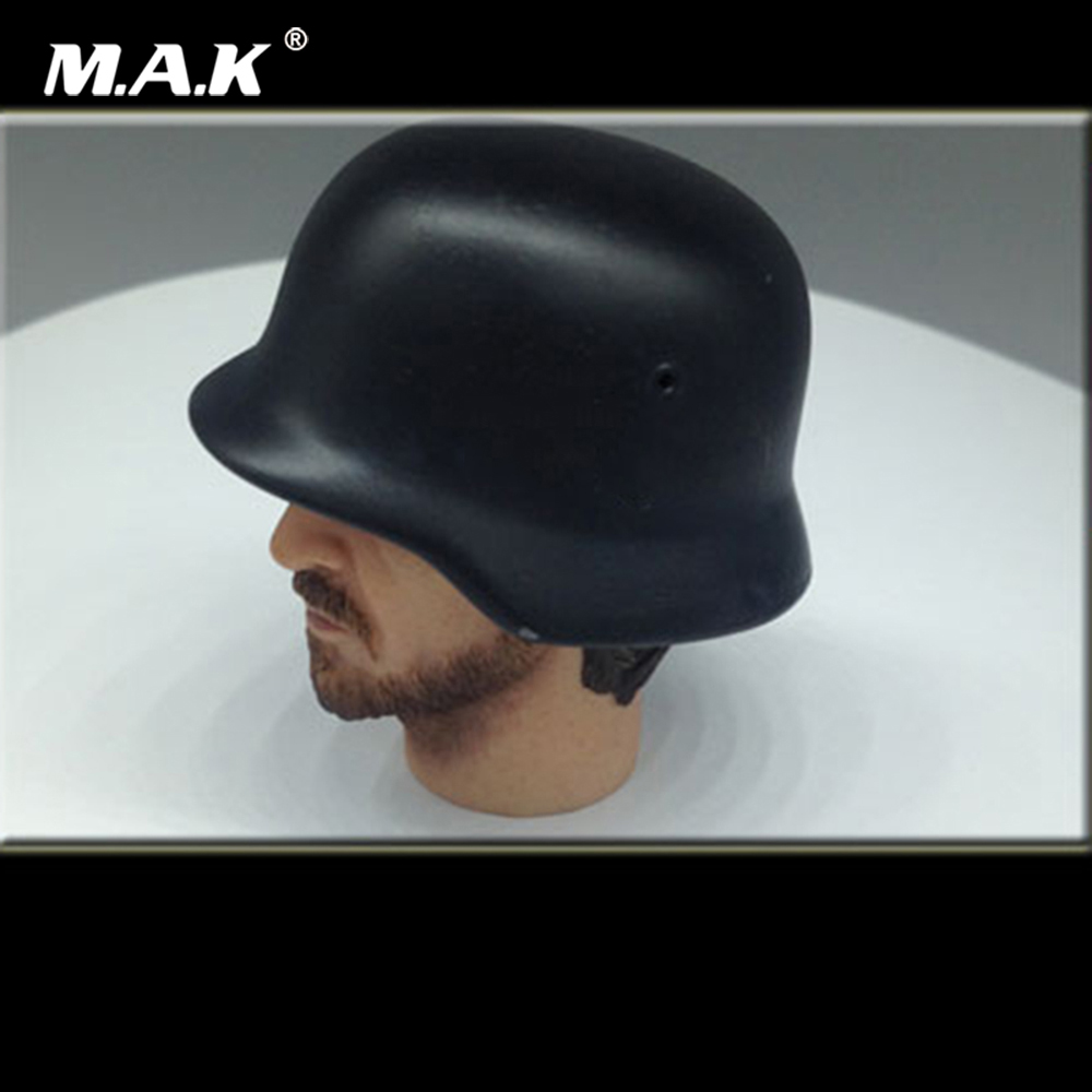 Helmet-Cap Model Scene-Accessories WWII Soldier Action-Figure German Army Metal for 12-Male