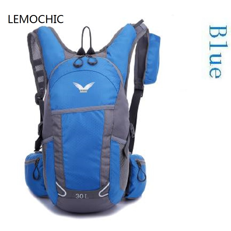 Prix pour LEMOCHIC Haute qualité Ultra-Léger imperméable à l'eau en plein air sac à dos alpinisme 30L voyage randonnée sac à dos d'école de conduite sport sac