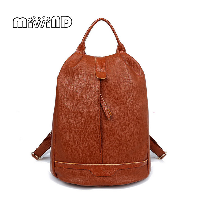 MIWIND Fashion Women Backpack Hotsale Backpack Women Leather Backpack Free Shipping Women Bag Mochila Feminina Back Pack fashion free shipping just hype pattern back to school backpack mochila batoh plecak