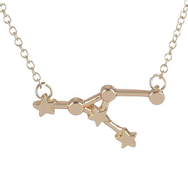 10pcs Unique Sex Girl Necklace Cancer Zodiac Sign Astrology Necklace