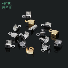 US $0.77 10% OFF 100pcs small package DIY 4x8/5x7mm Jewelry Findings Iron Silver/Gold/Rhdoium Textured End Caps Crimp Beads fit jewelry making-in Jewelry Findings & Components from Jewelry & Accessories on Aliexpress.com   Alibaba Group
