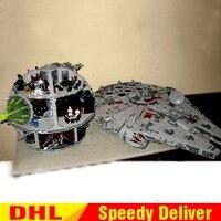 LEPIN 05033 Ultimate Collector's Millennium Falcon Lepin 05035 Death Star Wars Building Block Bricks lepins toys 10179 10188