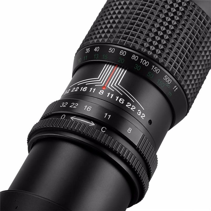 500 mm F / 8.0 Super telefoto objektiv z ročnim zoomom + brezplačni - Kamera in foto - Fotografija 5