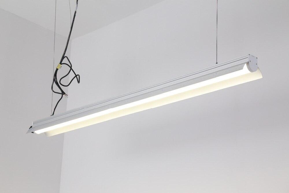Livraison gratuite haute puissance 4Ft 5Ft 40 w 50 w suspendu linéaire Led Highbay luminaires en aluminium logement UL pilote répertorié