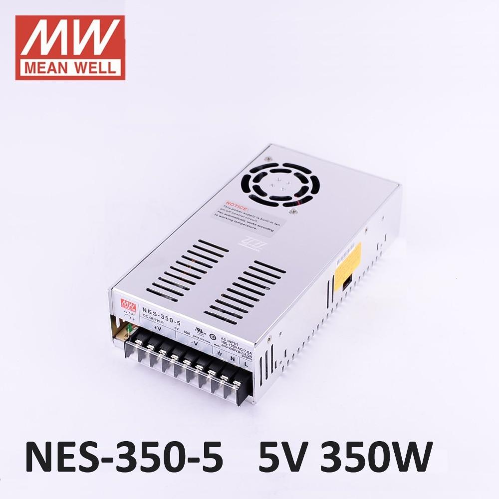 Meanwell original constant voltage 12V/5V Power Supply NES-350-12 350W 5A IP67 waterproof,AC100-240V input;12V/350W output стоимость