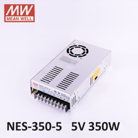 Meanwell original constant voltage 12V/5V Power Supply NES 350 12 350W 5A IP67 waterproof,AC100 240V input;12V/350W output