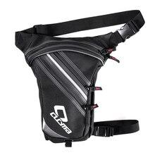 Men's Waterproof Oxford Thigh Drop Waist Leg Bag Waist Pack Bag Casual Travel Bag Motorcycle Phone Purse Fanny Pack Waist Packs