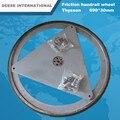 Перила трения колеса 690*30 мм с железный листового железа Для ThyssenKrupp Эскалатора Запасной Части