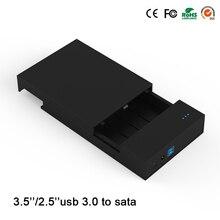 High speed USB 3.0 fall für 6 TB festplatte protable hdd Enclosure unterstützung 2,5/3,5 zoll blueendless hdd box MR35T