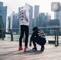 2016 Новый Стиль Anti Social Club Толстовки K-Pop Свободные Руно толстовки Мужчины Панк Хип Поп Thrasher Bts Дворец Bape Толстовка Z20