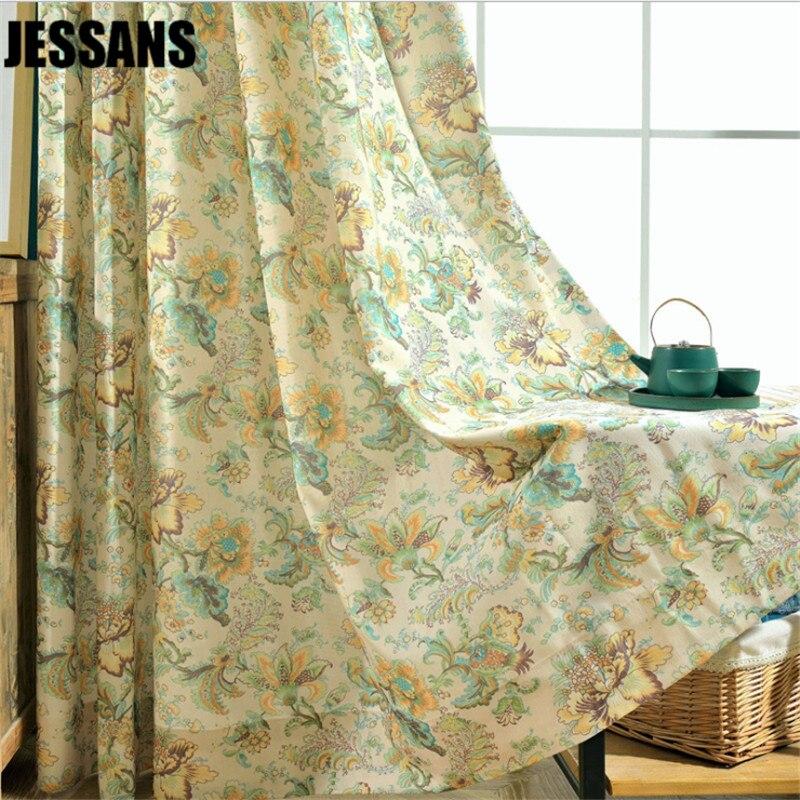 Modern Curtain For Living Room Bedroom Window Fine Fresh Rural