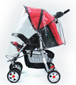 Baby Stroller rain cover wind cap Stroller transparent cover with General Model