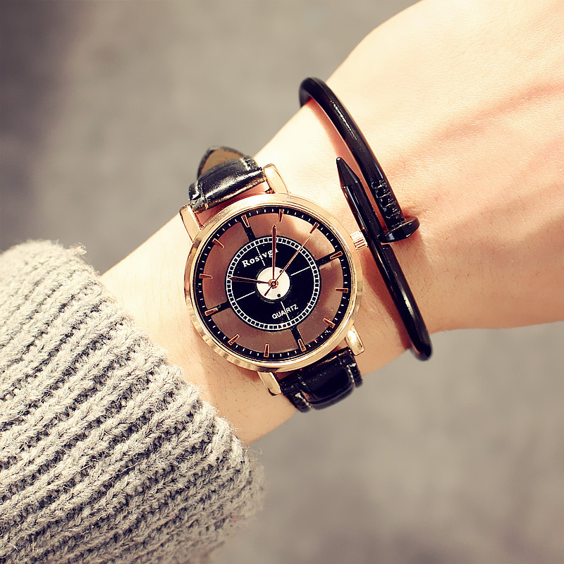 Bigbang With The Korean Version Of The Hollow Exo Watches Men And Women Students Simple Fashion Trends Personality WristWatch