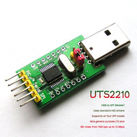 For UsenDz@ UTS2210 USB to SPI SPI Master HID device MCP2210