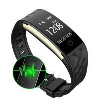 S2 Smart Watch Heart Rate Monitor Fitness Tracker Touchpad Wristband GPS Sport Clock Men Women Smart Bracelet For Android IOS