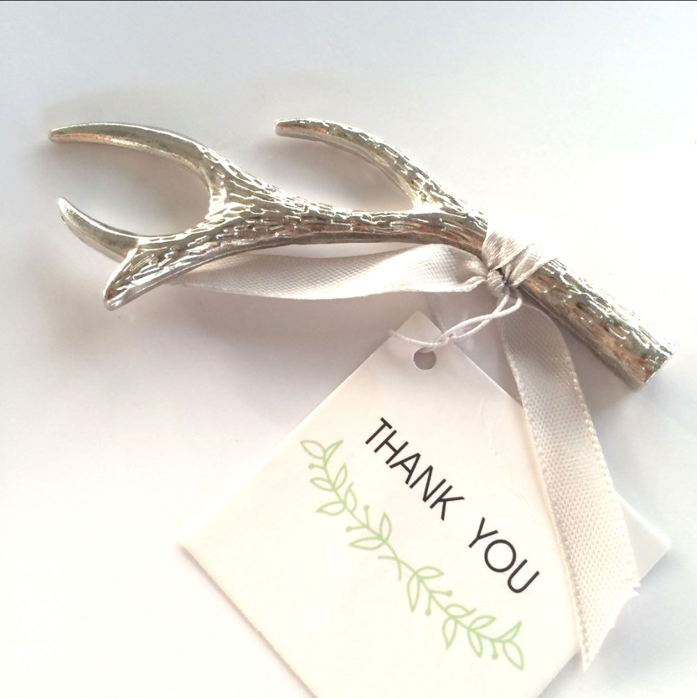 50Pcs Silver Wine Bottle Opener Beer Favors,Metal Engagement Party ...