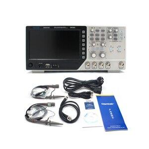 Image 2 - Цифровой мультиметр Hantek DSO4102C, Осциллограф USB 100 МГц, 2 канала, ЖК дисплей, осциллограф, генератор сигналов
