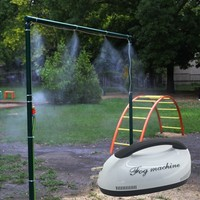 Высокое качество патио распыления воды охлаждения Mosquito запотевание системы
