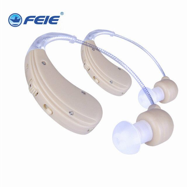 drop shipping ear hearing device double BTE rechargeable hearing aid  S-109S feie mini rechargeable hearing aid usb charger computer ajustable tone ear listen device s 109s drop shipping