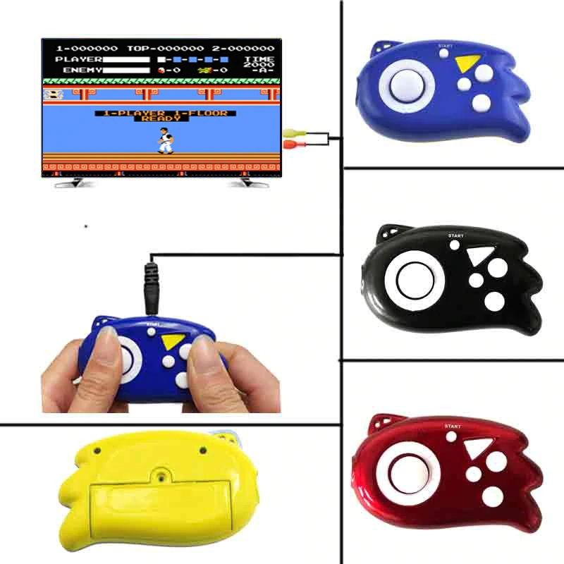 2019 New 8 Bit Mini Video Game Console Players Build In 89 Classic Games Support TV Output Plug & Play Game Player For Children