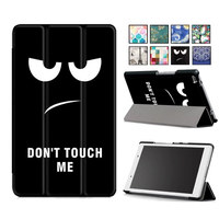 For Lenovo Tab 4 8 TB 8504X Leather Case Smart Cover For Lenovo TAB4 8 TB