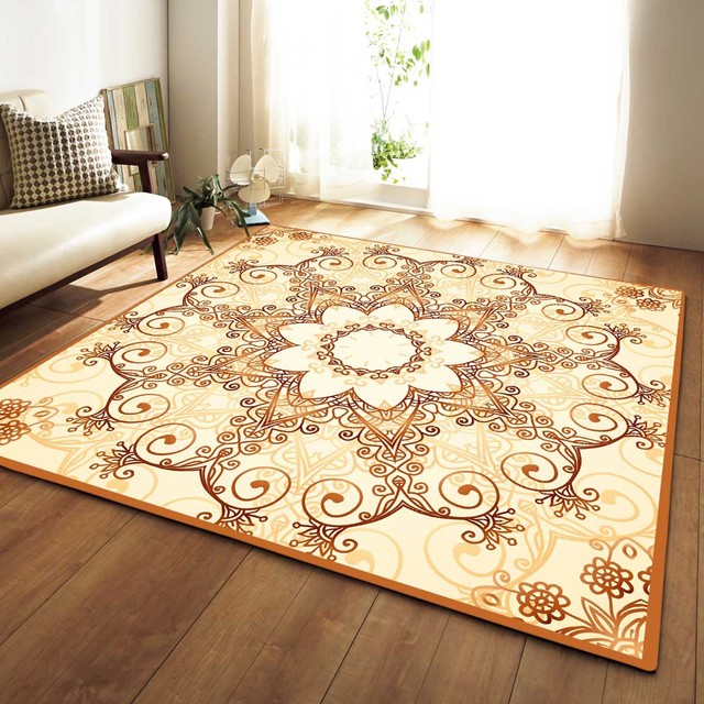 Zeegle Home Decor Carpet Rug Anti Slip Office Chair Floor Mats