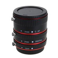 ALLOET Camera Lens Adapter Auto Focus AF Macro Extension Tube Ring Mount For CANON Lens Canon