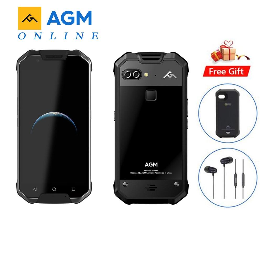 AGM X2 EU 4G Smartphone Android 7 0 6GB 64GB IP68 Waterproof 5 5 Octa Core