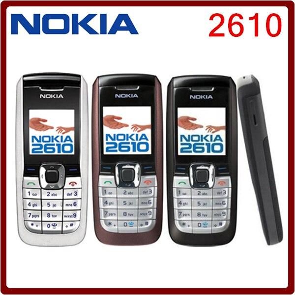 Цена за 2610 Быстрый Разблокирована Nokia 2610 самый Дешевый Оригинальный Мобильный Телефон Бесплатная Доставка
