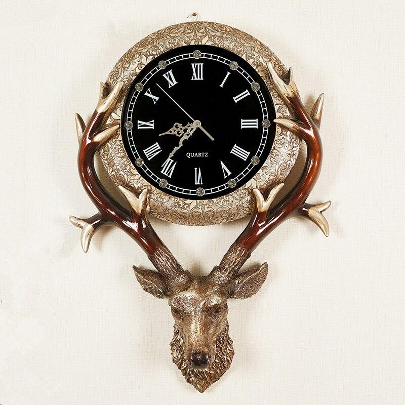 20 pouces Grand Mur Horloge Saat Reloj Relogio de parede décoration de La Maison accessoire Ronde Muet salon chambre art horloge 65 cm