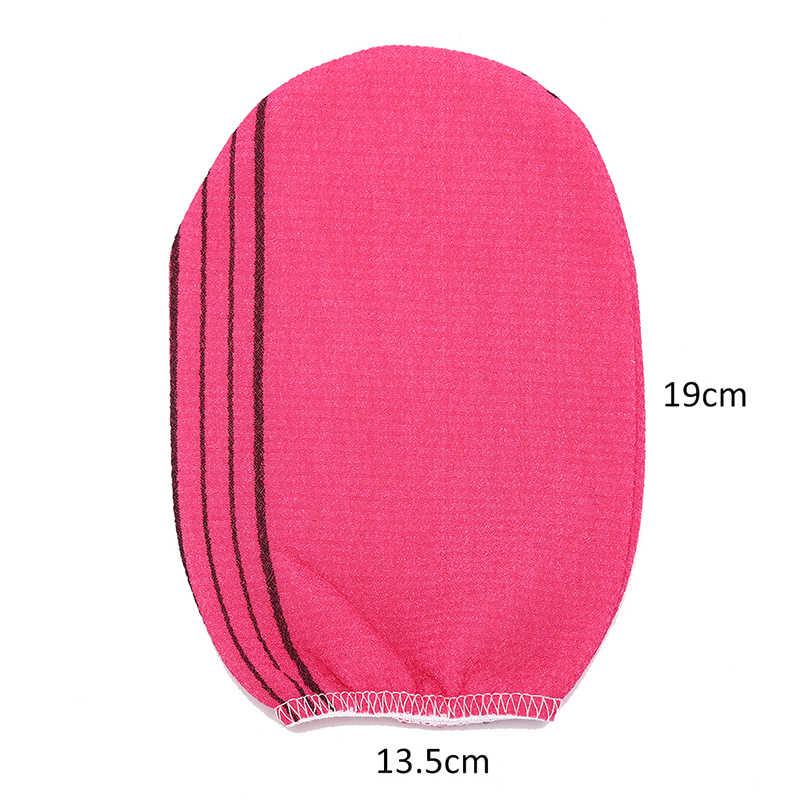 3 phong cách Tẩy Tế Bào Chết Toàn Thân Găng Tay Tắm Tẩy Tế Bào Chết Găng Tay Tắm Chà Tẩy Tb Chết cho Nam Nữ Rửa Da Spa khăn