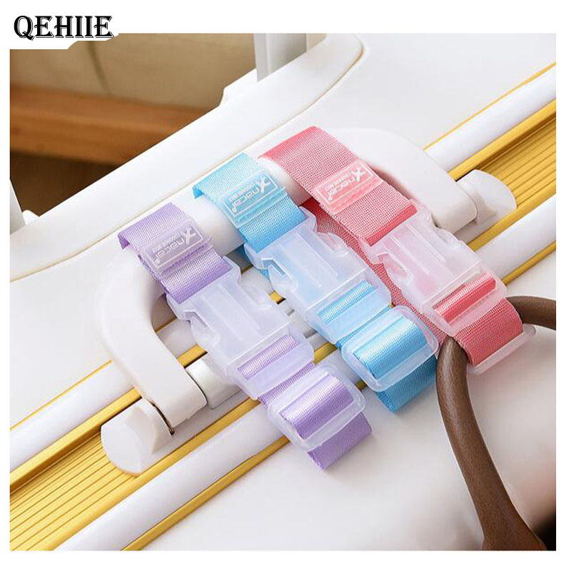 Adjustable nylon luggage with luggage accessories hanging buckle with suitcase bag with anti-lost anti-theft Protective belt