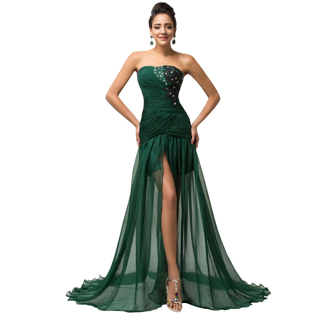 Online Get Cheap Emerald Green Silk Dress -Aliexpress.com...