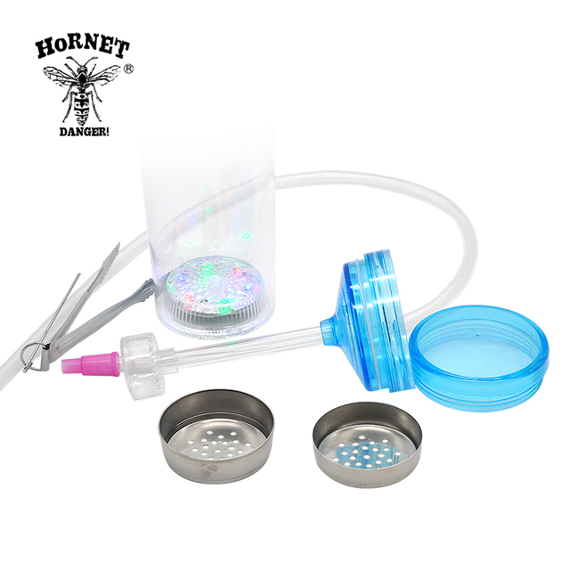 Portable Hookah Smoking Bottle With LED Light