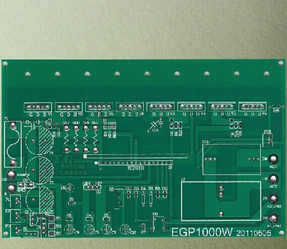 EGP1000W Pure sine wave inverter power board EG8010 chip driver board цена и фото