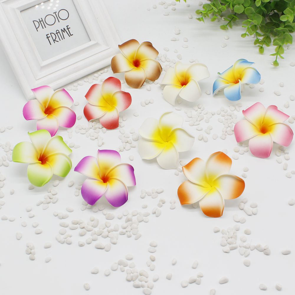 5 pieces / lot new 8cm size DIY bubble mini fake egg hairpin / children hairpin Hawaii beach hair ornaments